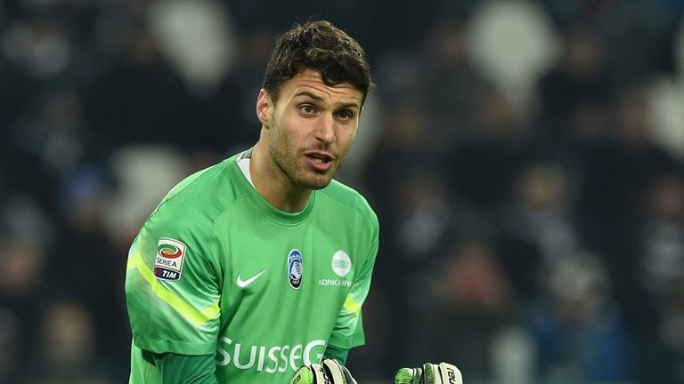 Marco Sportiello: Has been linked with a move to Liverpool