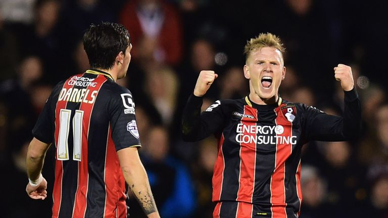 Only Matt Ritchie has more assists than Daniels for Bournemouth this season