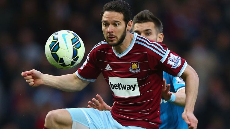 Matthew Jarvis has featured eight times for West Ham this season