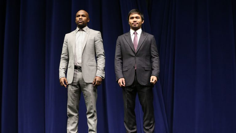 Floyd Mayweather and Manny Pacquiao: Training in what is the calm before the storm