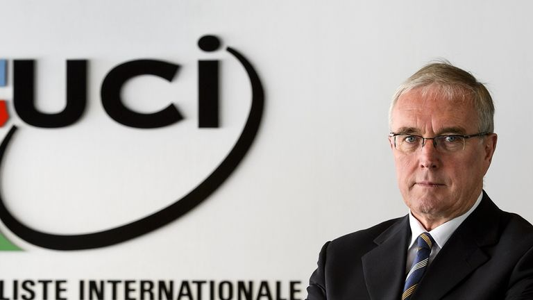Pat McQuaid was president of the UCI from 2005 to 2013