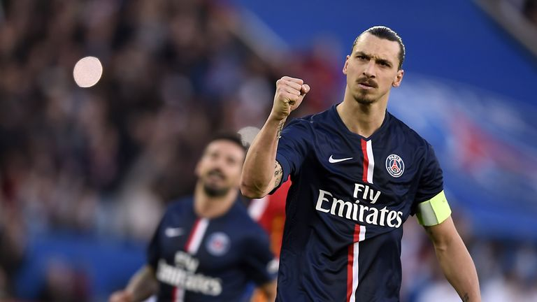 Zlatan Ibrahimovic has been linked with Manchester United