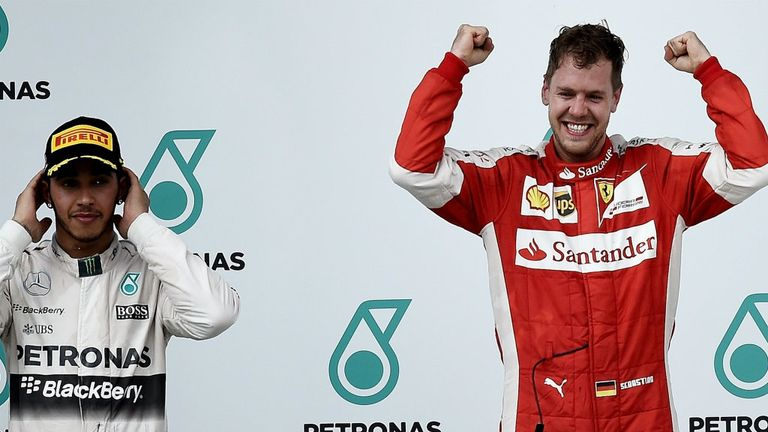Sepang was both Vettel and Ferrari's first win over Mercedes in F1's new turbo era