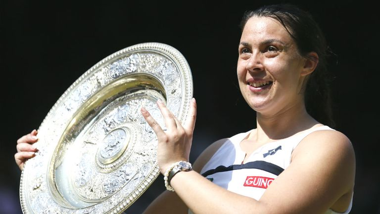 Marion Bartoli won her only Grand Slam title at Wimbledon in 2013