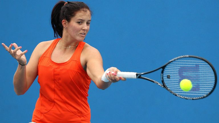 Laura Robson's comeback is on hold