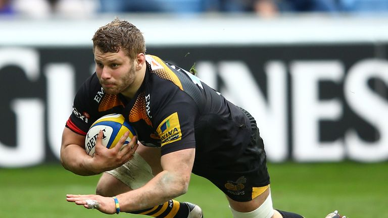 Thomas Young: Two tries for Wasps flanker
