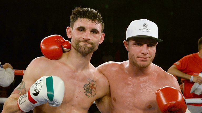 Tommy Coyle (R): Overcame a heavy knockdown