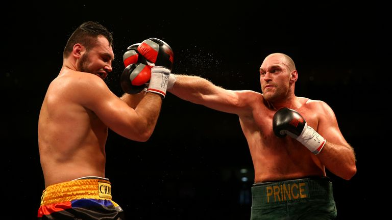 Fury forced Hammer to retire at the end of the eighth