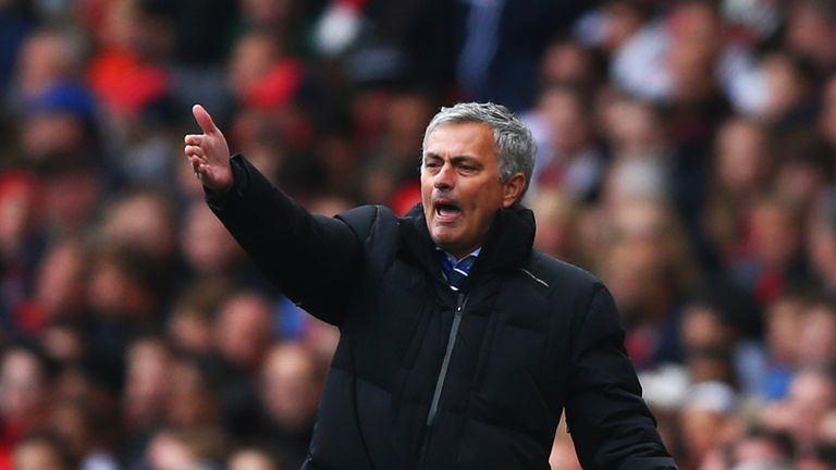 Chelsea manager Jose Mourinho denies contact with Real Madrid over potential return | Football News | Sky Sports