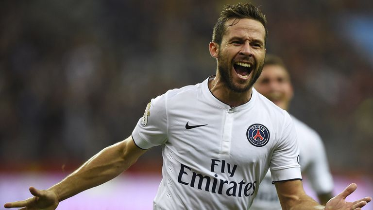 Yohan Cabaye: Played under Alan Pardew for three years at Newcastle