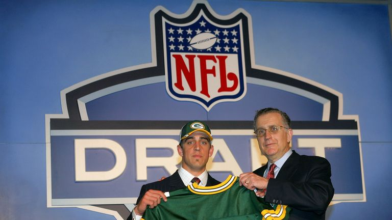 Aaron Rodgers was a surprisingly late pick in the 2005 Draft but has gone on to have a stellar NFL career