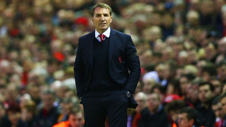 Rodgers left Liverpool last October after three-and-a-half years at Anfield