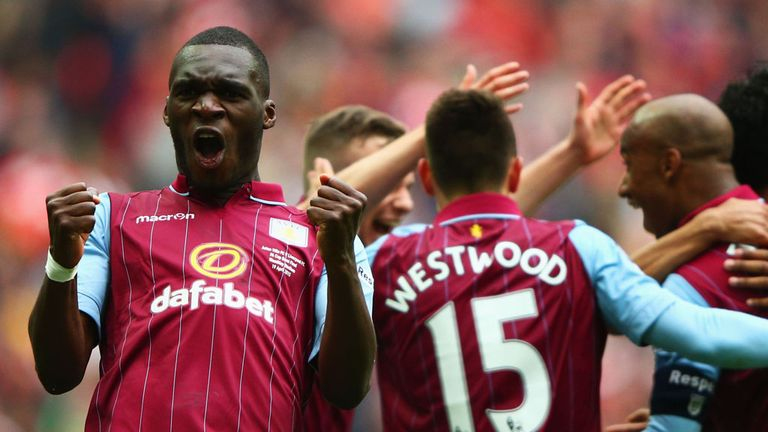 Christian Benteke is heading for Anfield
