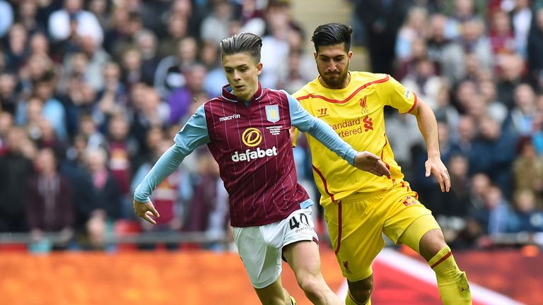 Jack Grealish played a key role in Aston Villa's win over Liverpool