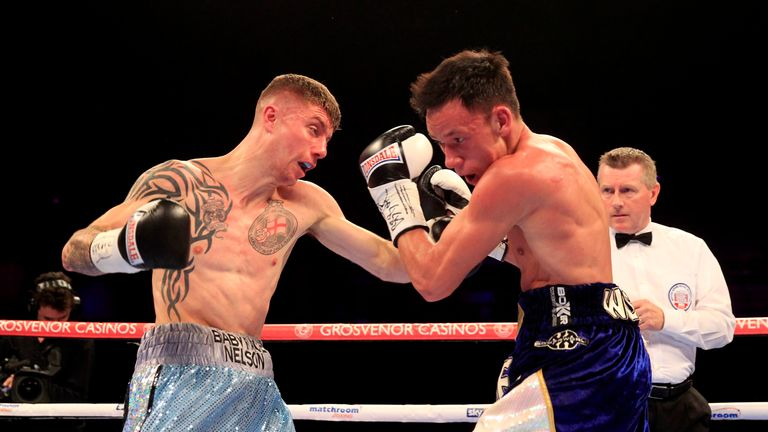 Anthony Nelson: beat Jamie Wilson to become Commonwealth super-flyweight champion (Lawrence Lustig)