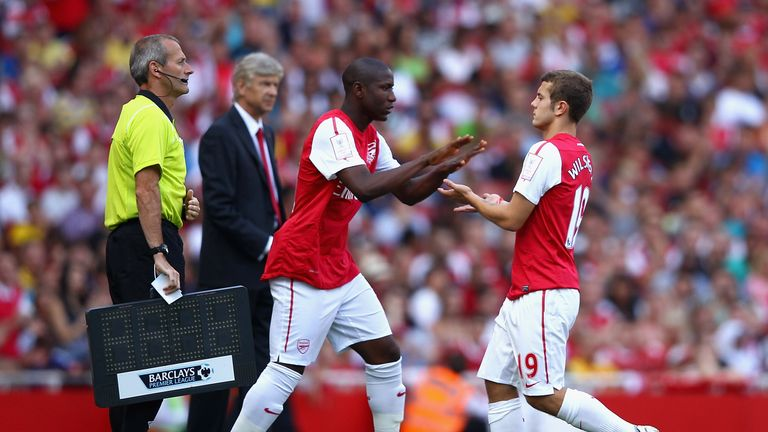 Afobe has been encouraged by former team-mate Wilshere