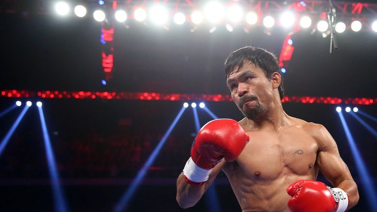 Pacquiao is supremely conditioned