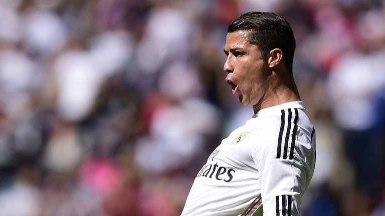 Ronaldo scored a fine free-kick against Eibar on Saturday
