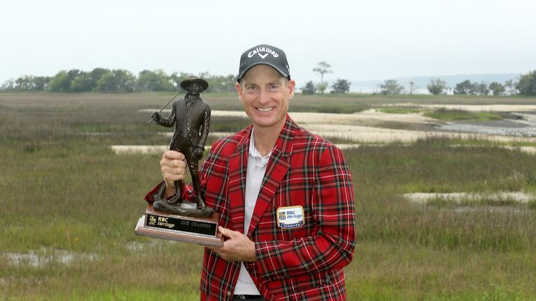 Jim Furyk: First win since the 2010 Tour Championship