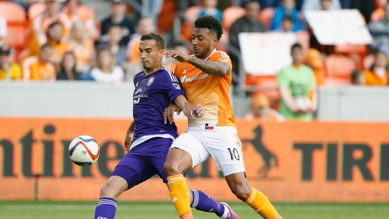 Seb Hines (left) and Giles Barnes (right): Both players enjoy MLS life after crossing the pond