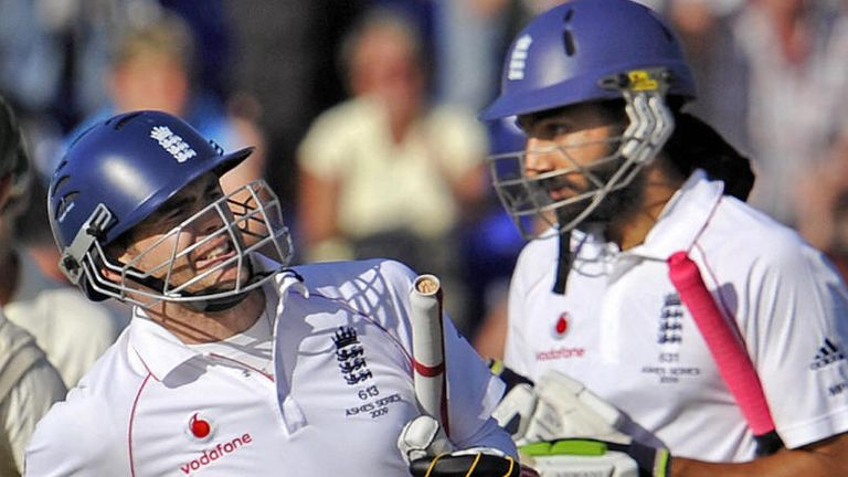 Anderson and Panesar thwarted Australia in Cardiff