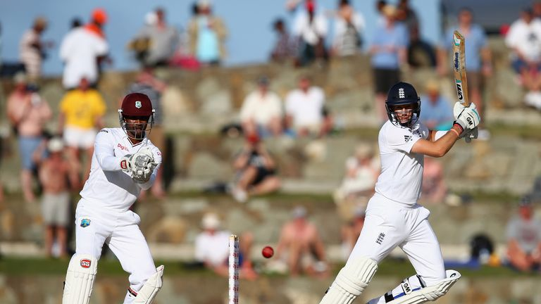 Root was in fine form when England visited the Caribbean in 2015