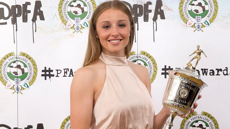 Leah Williamson: Women's Young Player of the Year