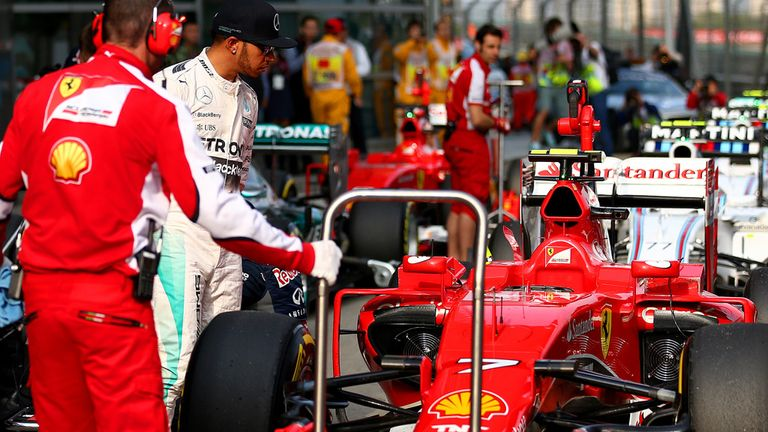 Ferrari have emerged as Mercedes' closest challengers in 2015