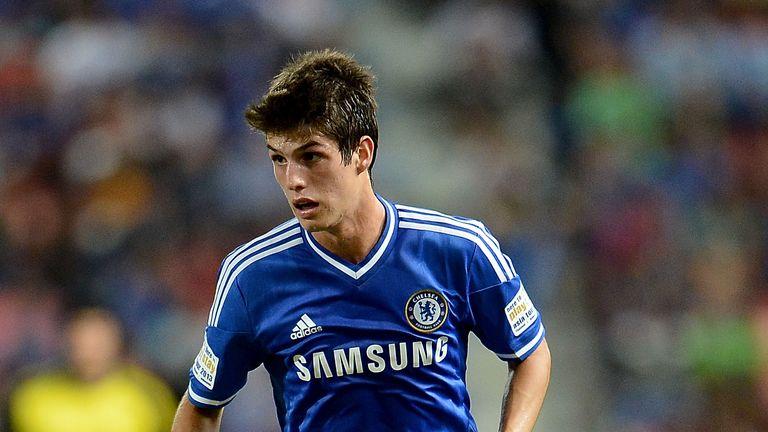 Lucas Piazon in action for Chelsea