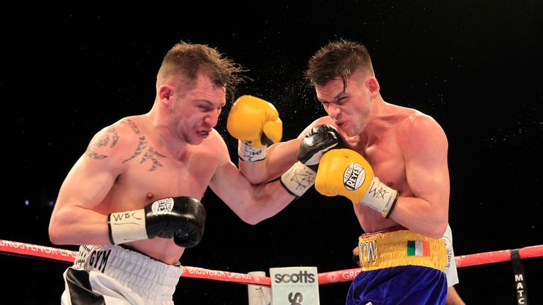 Ward beat Maxi Hughes in title fight in April