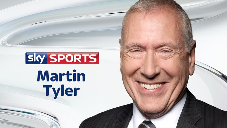 Martin Tyler weekly stats and facts