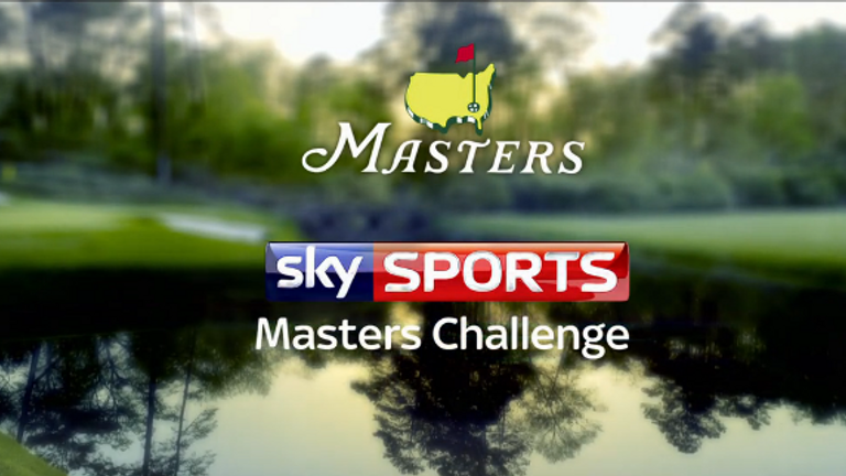 Kirsty Gallacher and Sarah-Jane Mee take on the Masters Challenge ...