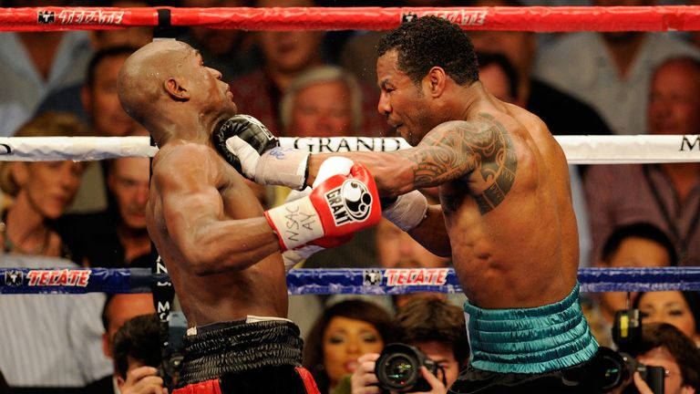 Shane Mosley and Floyd Mayweather met back in 2010