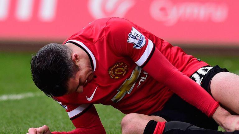 Van Persie: Injuries affected his season