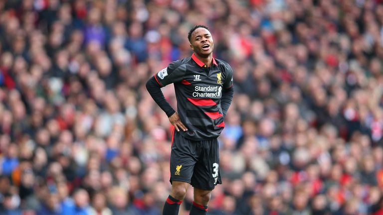 Sterling had frustrating afternoon at the Emirates