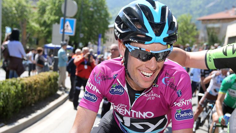Richie Porte won the Giro del Trentino, a key warm-up race for the Giro d'Italia