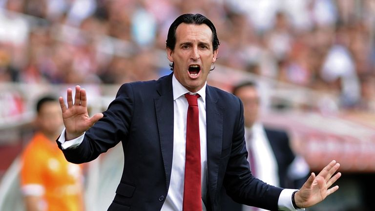 Unai Emery's side have lost just once in Europe this season