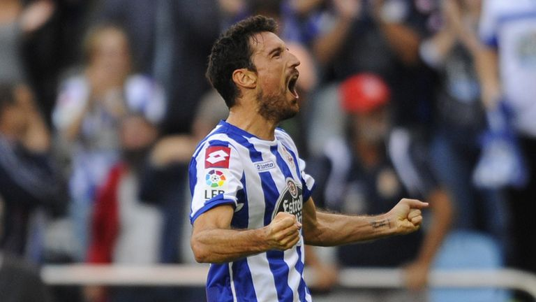Toche scored the equaliser for Deportivo