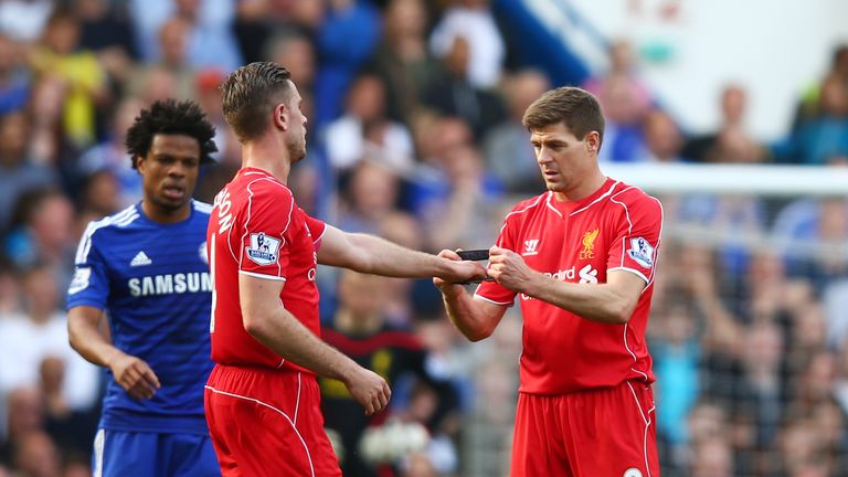 Henderson replaced Steven Gerrard as Liverpool's captain in 2015