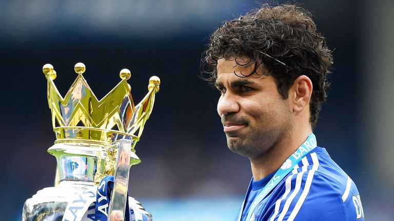 Costa was instrumental in Chelsea's two title wins in three seasons