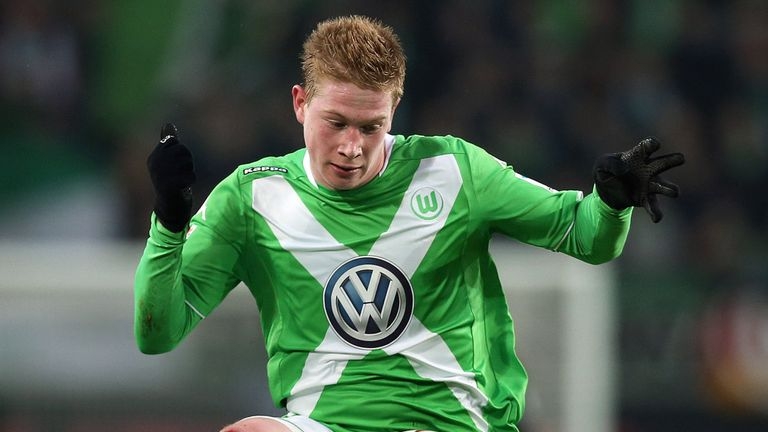Kevin De Bruyne remains a Wolfsburg player at the moment