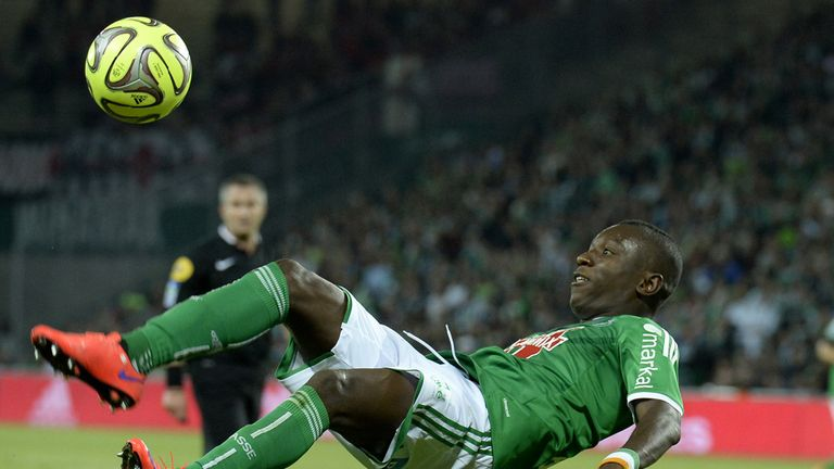 Max Gradel netted twice for St Etienne