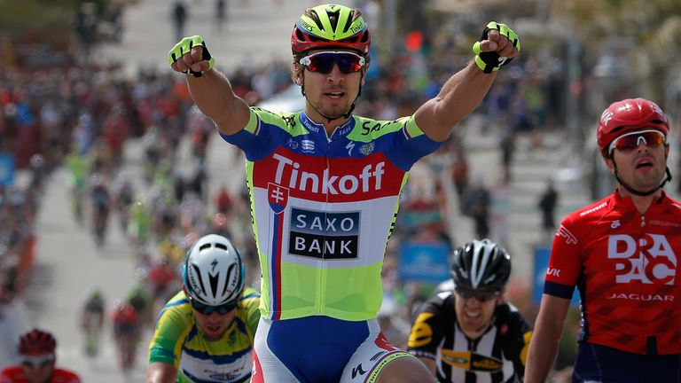Peter Sagan has won the points classification in each of the past three years