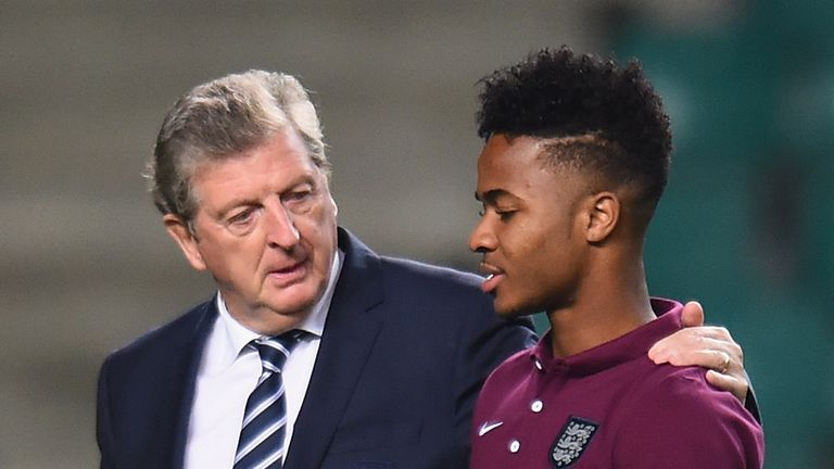 Roy Hodgson believes Raheem Sterling will become one of England's star players over the next 10 years