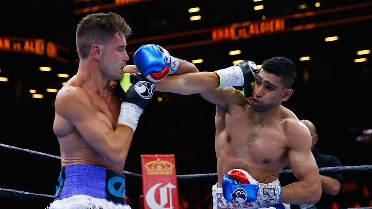 Algieri and Khan duke it out at Barclays Center of Brooklyn