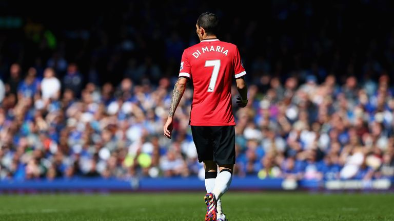 Di Maria endured a forgettable 12 months at Manchester United