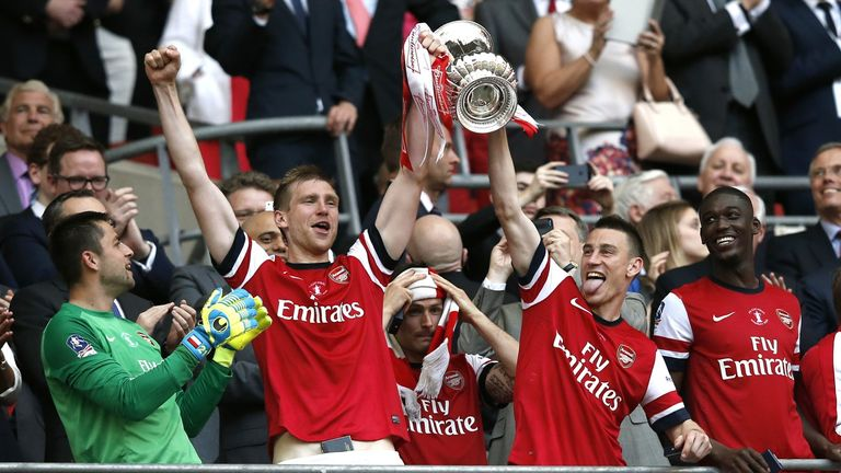 Arsenal are aiming win the FA Cup two years running as they prepare to face Aston Villa