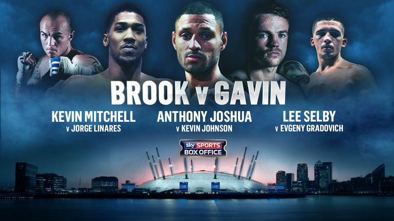 May 30: Kell Brook and Anthony Joshua are part of a packed O2 card