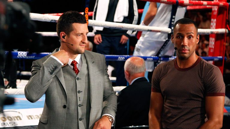 DeGale believes Froch should remain outside the ropes
