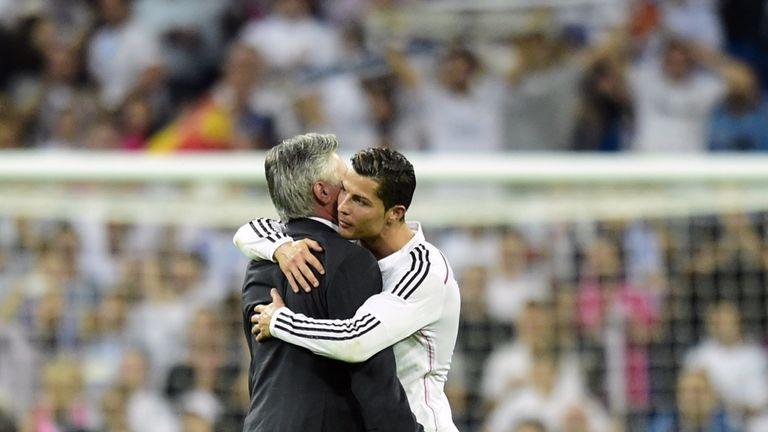 Cristiano Ronaldo enjoyed working with Rafa Benitez's successor, Carlo Ancelotti